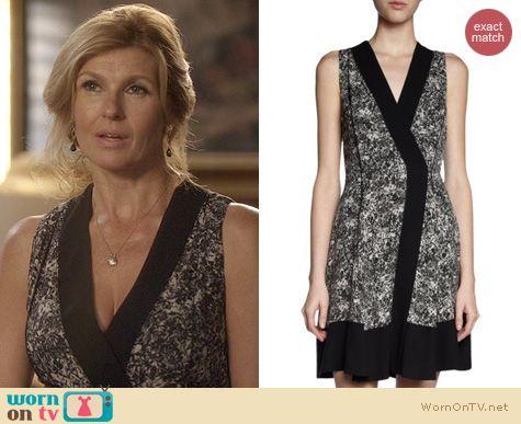 Nashville Fashion: Proenza Schoulder Wrap Dress worn by Connie Britton