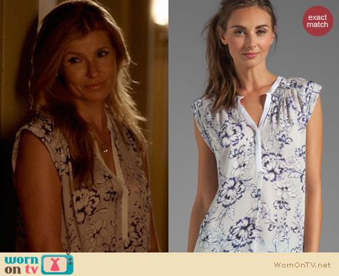 Nashville Fashion: Rebecca Taylor Zen blouse worn by Connie Britton