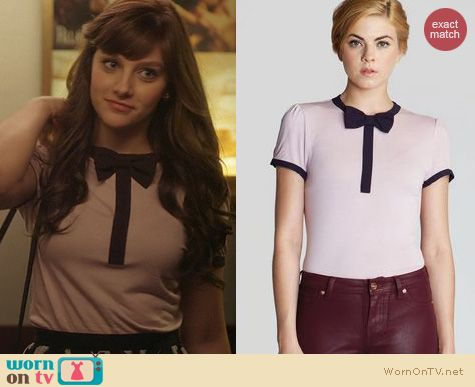 Fashion of Nashville: Ted Baker Amaris Bow Sweater worn by Aubrey Peeples