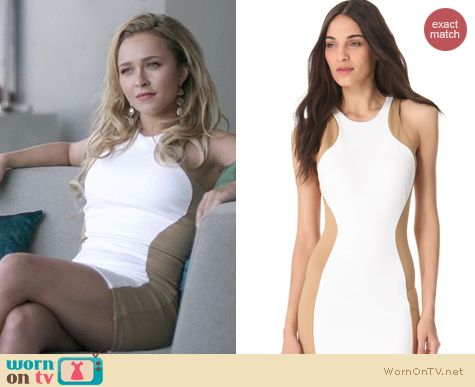 Nashville Fashion: Torn by Ronny Kobo Shiran Dress worn by Hayden Panettiere
