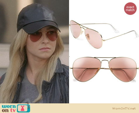 Sunglasses Nashville  wornontv juliette s leather baseball hat and aviator sunglasses
