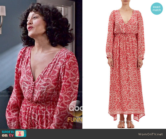 Natalie Martin 'April' Dress in Medallion Print worn by Tracee Ellis Ross on Blackish