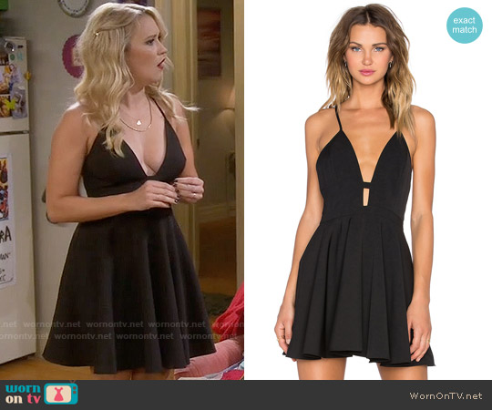 NBD x Naven Twins Everytime Skater Dress worn by Emily Osment on Young & Hungry