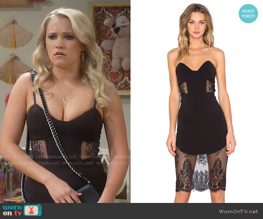 NBD Picture Me Dress worn by Emily Osment on Young & Hungry