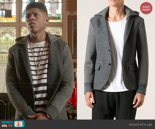 Neil Barrett Hooded Blazer worn by Bryshere Y. Gray on Empire
