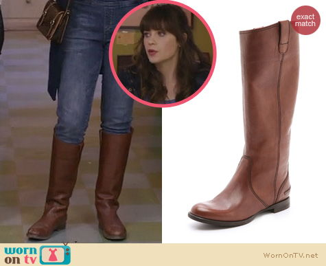 New Girl Boots: Madewell Archive Boots worn by Zooey Deschanel