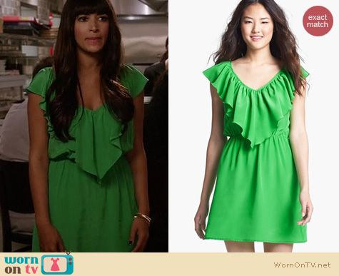 New Girl Fashion: Amanda Uprichard Kelly Dress worn by Hanna Simone
