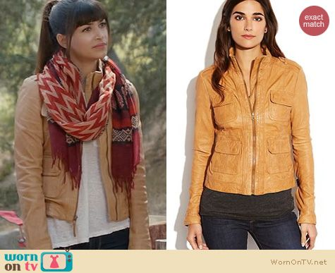 New Girl Style: Lucky Brand Downtown Traveler Jacket worn by Hannah Simone
