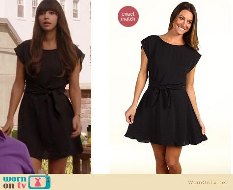 New Girl Fashion: Rebecca Taylor knit dress worn by Hanna Simone