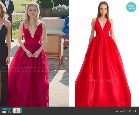 Nika Marilyn Gown worn by Johanna Braddy on UnReal