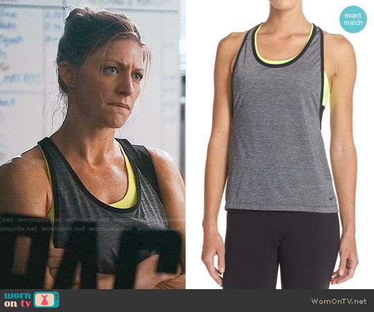 Nike 'Pro Inside Loose' Tank worn by Jes Macallan on Mistresses