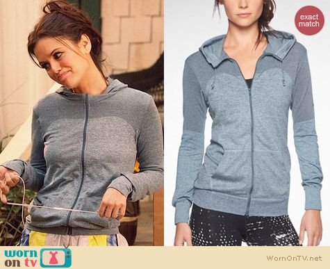 Nike Dri-Fit Training Hoodie worn by Rachel Bilson on Hart of Dixie