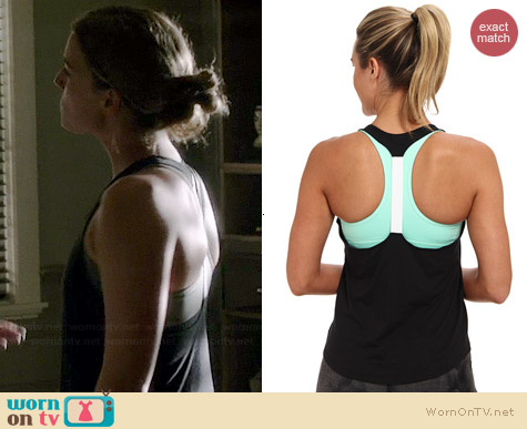 Nike Elastika Tank worn by Emily VanCamp on Revenge