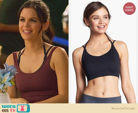 Nike Gym Seamless Bra worn by Rachel Bilson on Hart of Dixie