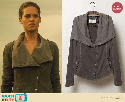 Fashion of Nikita: Anthrogpologie Tavi Moto Jacket worn by Lyndsy Fonseca