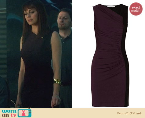 Fashion of Nikita: Diane von Furstenberg Gladys Dress worn by Melinda Clarke