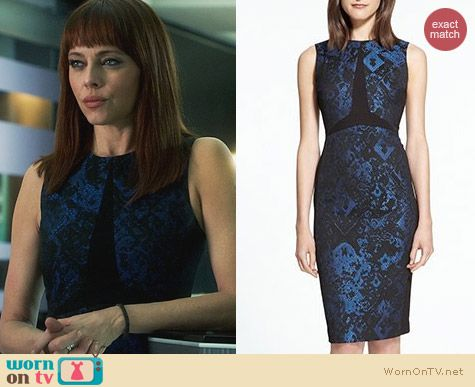 Fashion of Nikita: Judith & Charles Cosette Dress worn by Melinda Clarke