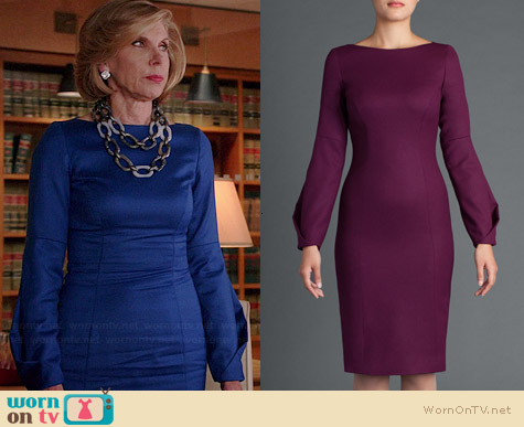 No. 35 Broken Elbow Dress worn by Christine Baranski on The Good Wife