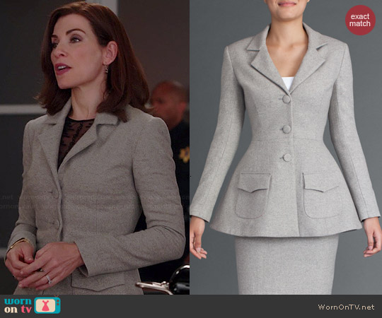No. 35 Dan Jacket worn by Julianna Margulies on The Good Wife