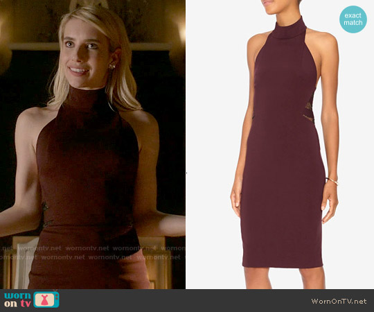 Noam Hanoch Gitta Dress worn by Emma Roberts on Scream Queens