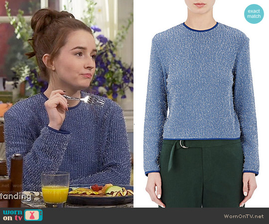 Nomia Shrunken Sweater worn by Kaitlyn Dever on Last Man Standing