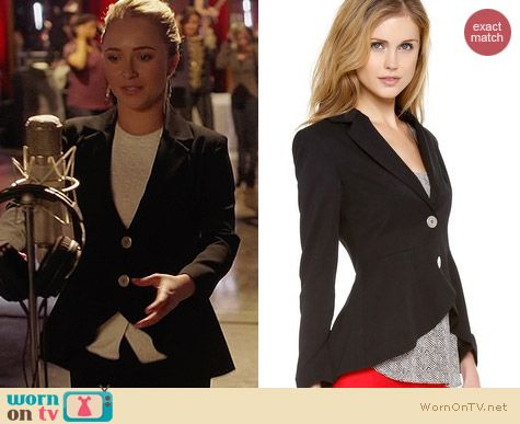 Nonoo Wool Riding Jacket worn by Hayden Panettiere on Nashville