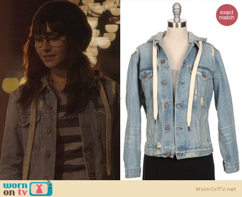 NSF Adam Denim Jacket with hood worn by Hayden Panettiere on Nashville