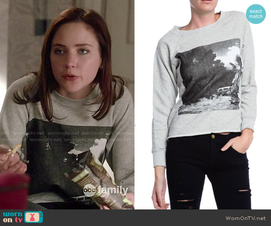 NSF Carolina Sweatshirt worn by Haley Ramm on Chasing Life
