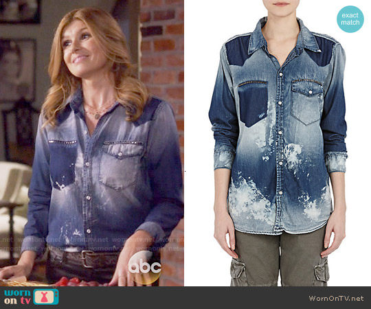 NSF Distressed Leslie Shirt worn by Connie Britton on Nashville