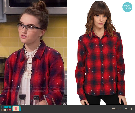 Obey Redwood Shirt worn by Kaitlyn Dever on Last Man Standing