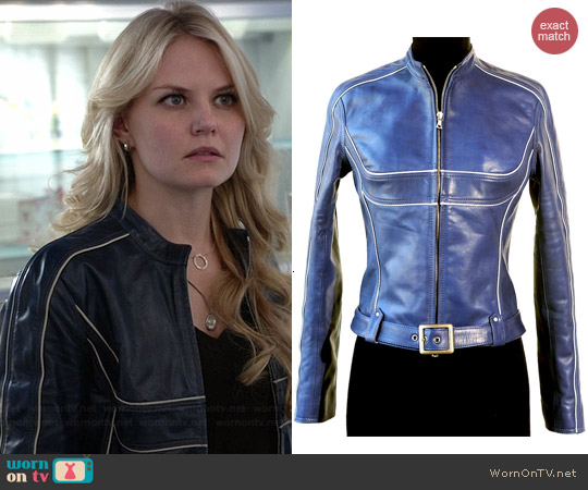 Ocean Drive Fj15/Gemma Jacket worn by Jennifer Morrison on OUAT