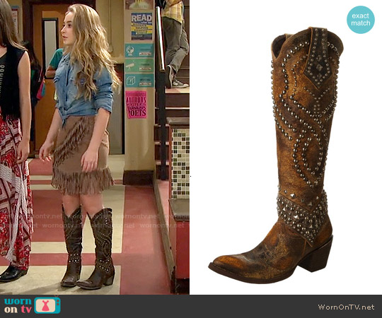 Old Gringo Belinda Boots worn by Sabrina Carpenter on Girl Meets World