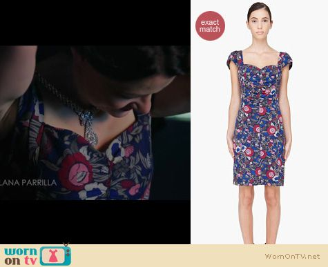 Once Upon A Time Fashion: Marc Jacobs Wallflower dress worn by Emilie De Ravin