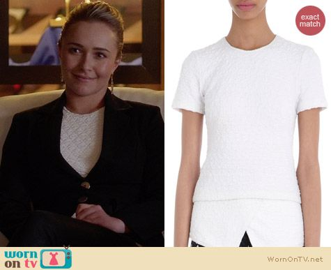 Opening Ceremony Posey Shirt tail top worn by Hayden Panettiere on Nashville