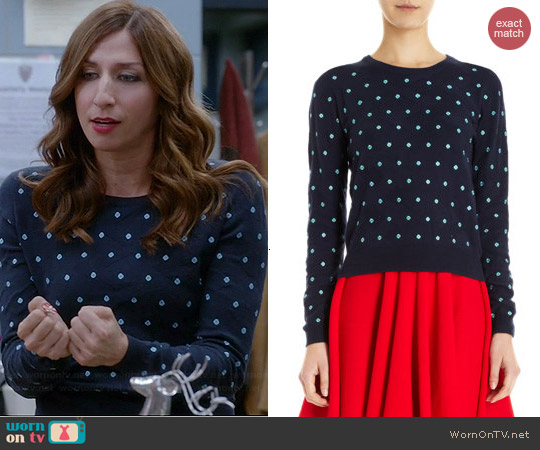 Opening Ceremony Sahara Sweater worn by Chelsea Peretti on Brooklyn 99