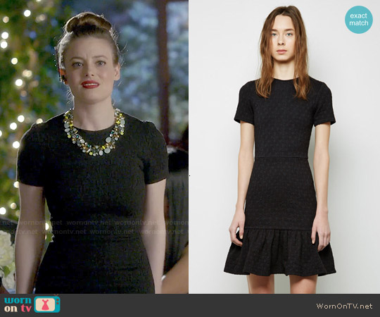 Opening Ceremony Umbrella Drop Ruffle Dress worn by Gillian Jacobs on Community