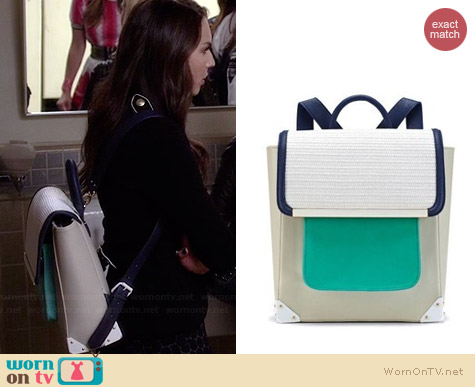 Ostwald Helgason Bowie Backpack worn by Troian Bellisario on PLL
