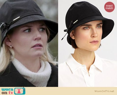 OUAT Fashion: Burberry Gabrielle hat worn by Jennifer Morrison