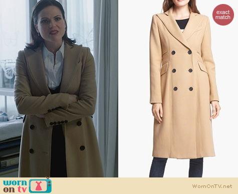 OUAT Fashion: Smythe Reefer Coat worn by Lana Parilla