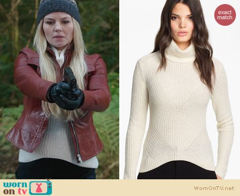 OUAT Fashion: Theysken's Theory Kivi Yara Sweater worn by Jennifer Morrison