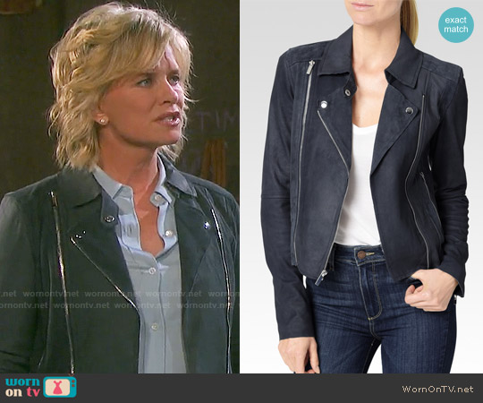 Paige Silvie Jacket worn by Mary Beth Evans on Days of our Lives