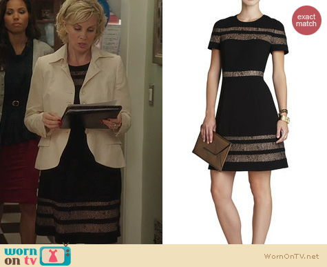 Parenthood Fashion: Bcbgmaxazria Kalli Dress worn by Monica Potter