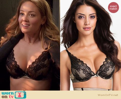 Fashion of Parenthood: Chantelle Paris Pushup Bra worn by Erika Christensen