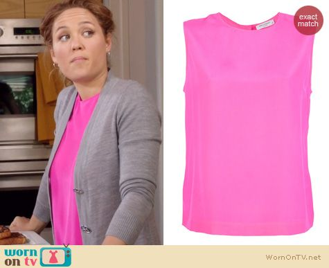 Parenthood Fashion: Equipment Reagan blouse worn by Erika Christensen