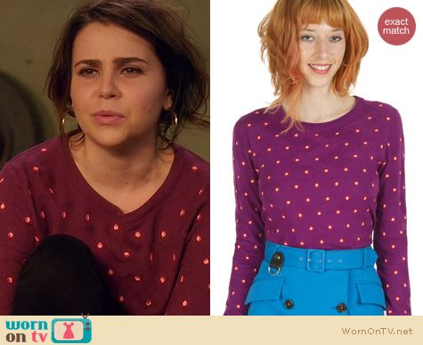 Fashion of Parenthood: Opening Ceremony Sahara Sweater worn by Mae Whitman