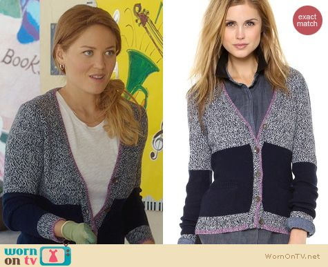 Parenthood Fashion: Rag & Bone Claire Cardigan worn by Erika Christensen