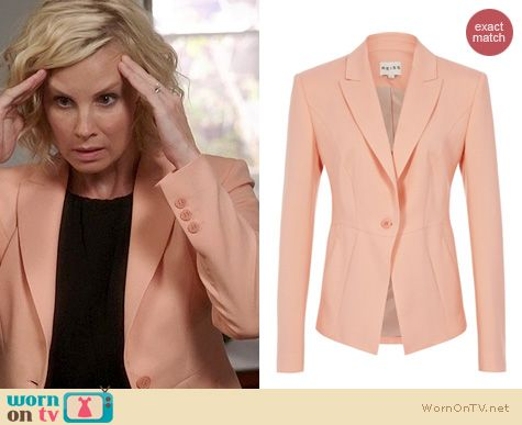 Parenthood Fashion: Reiss Santor Seamed Blazer worn by Monica Potter