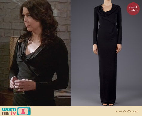 Fashion of Parenthood: Roland Mouret Siboney Gown worn by Lauren Graham