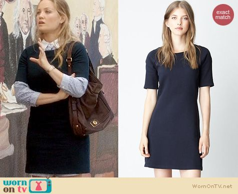 Parenthood Fashion: Steven Alan City Sweatshirt Dress worn by Erika Christensen