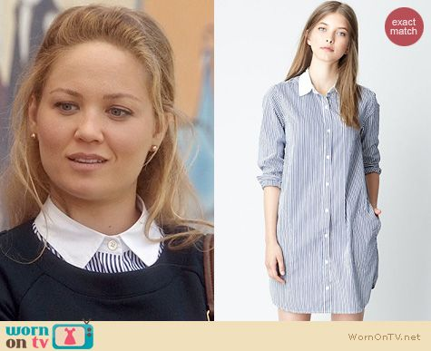 Parenthood Fashion: Steven Alan New Classic Shirtdress worn by Erika Christensen
